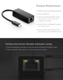 Ugreen C USB Ethernet adapteri