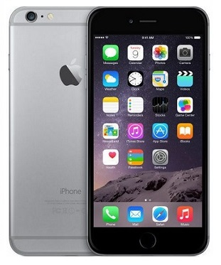 Apple iPhone 6, 16GB harmaa
