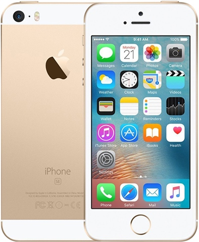 Apple iPhone SE, 32 GB kultainen