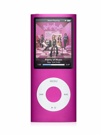 Apple iPod nano 4th 8GB, pinkki