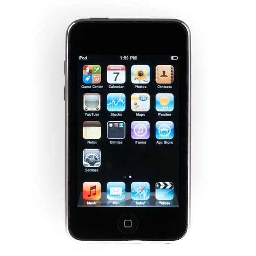 Apple iPod Touch 2nd 8GB, musta