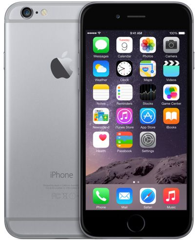 Apple iPhone 6, 64GB harmaa