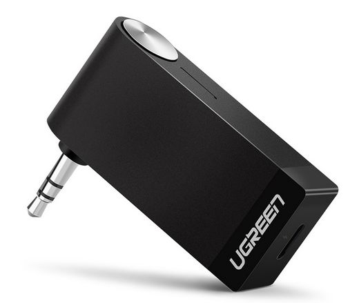 Ugreen AUX bluetooth adapteri autoon