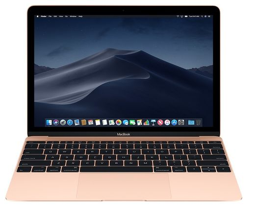 "Apple MacBook 12"", 8GB, 256GB SSD, kultainen"