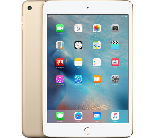 Apple iPad Mini 4, 128GB, WiFi + 4G kultainen