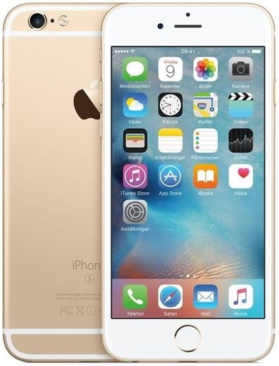 Apple iPhone 6S, 32GB kultainen