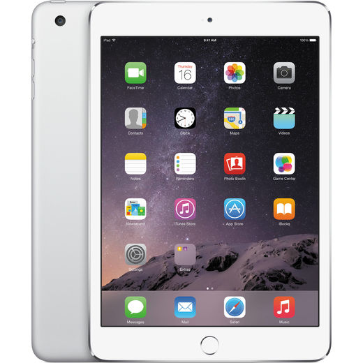 Apple iPad Mini 3 16GB, WiFi, hopea