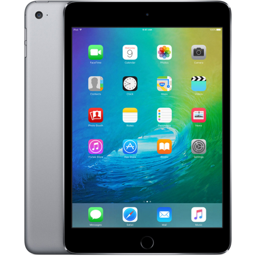 Apple iPad Mini 4, 32GB, WiFi, harmaa