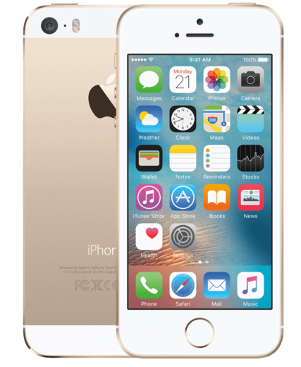 Apple iPhone 5s 64GB, kultainen