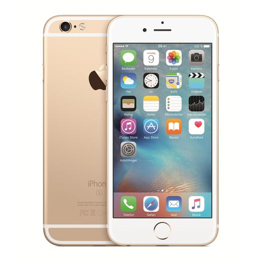 Apple iPhone 6S 64GB, kultainen,