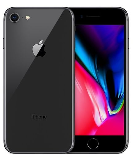 Apple iPhone 8 256GB tähtiharmaa