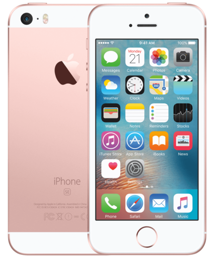 Apple iPhone SE, 64GB ruusukulta