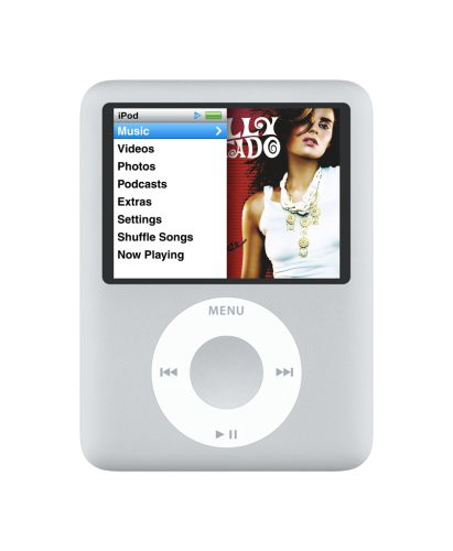 Apple iPod Nano 3rd 4GB hopea