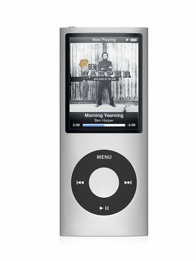 Apple iPod Nano 5th Gen 8GB hopea