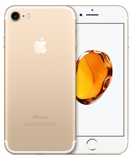 Apple iPhone 7 256GB kultainen