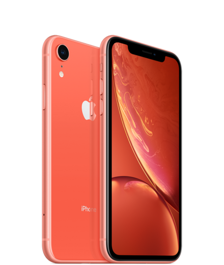 Apple iPhone XR 64GB, koralli
