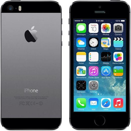 Apple iPhone 5s 16GB, harmaa